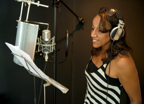 Aristofreeks studio session with Kathy Sledge and Next Step