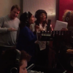 Offical Next Step iconic voices at our studio in Amsterdam…